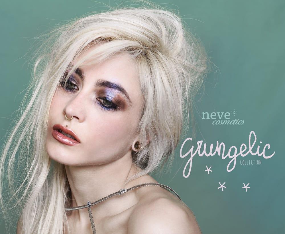 Grungelic Neve Cosmetics Collezione Trucco Primavera 2017