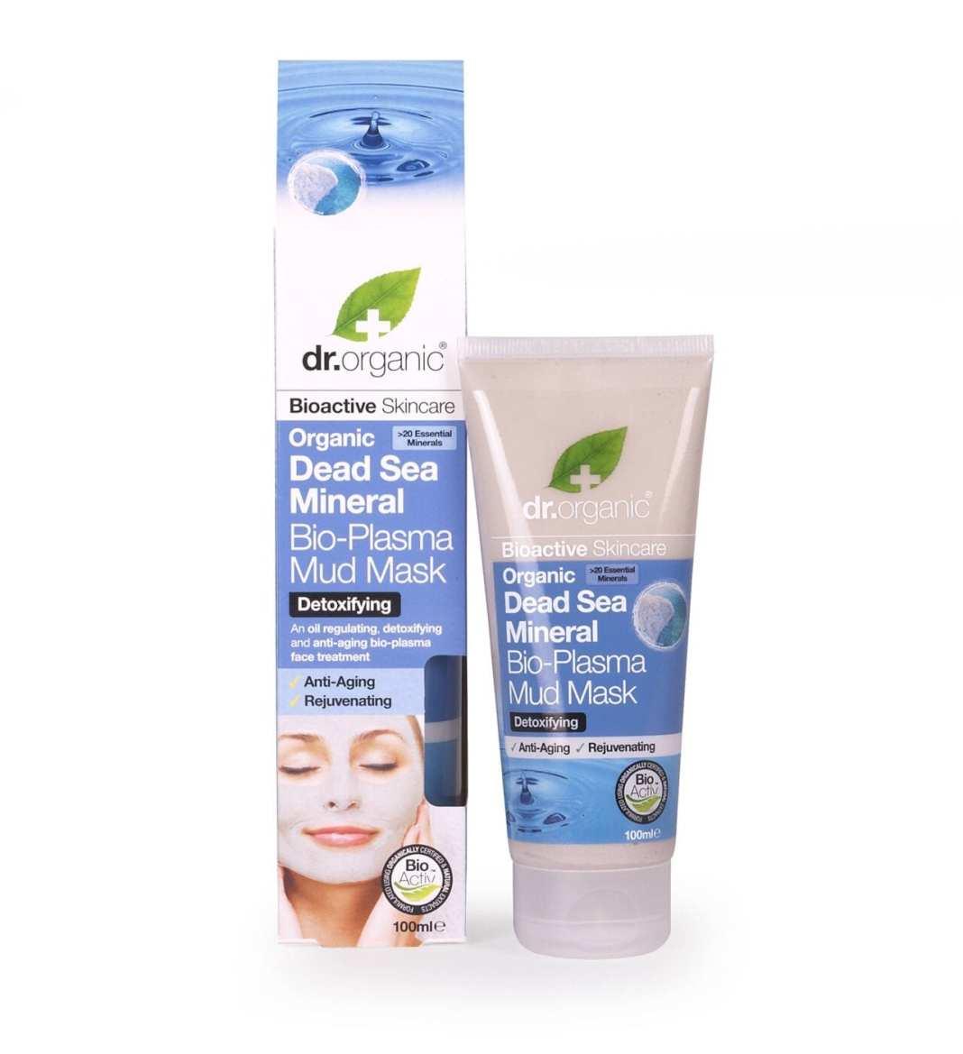 Dr Organic Dead Sea Mineral Bio Plasma Mud Mask Maschera Fango Viso Anti-Età