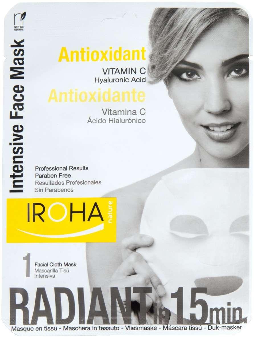 Iroha Maschera Antiossidante alla Vitamina C