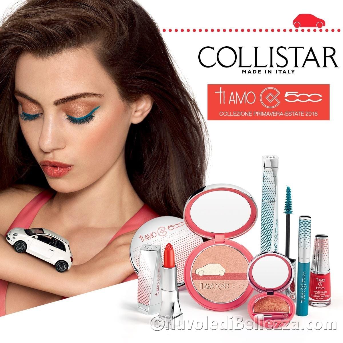 Collistar ti amo 500 collezione trucco primavera 2016 for Collistar italia