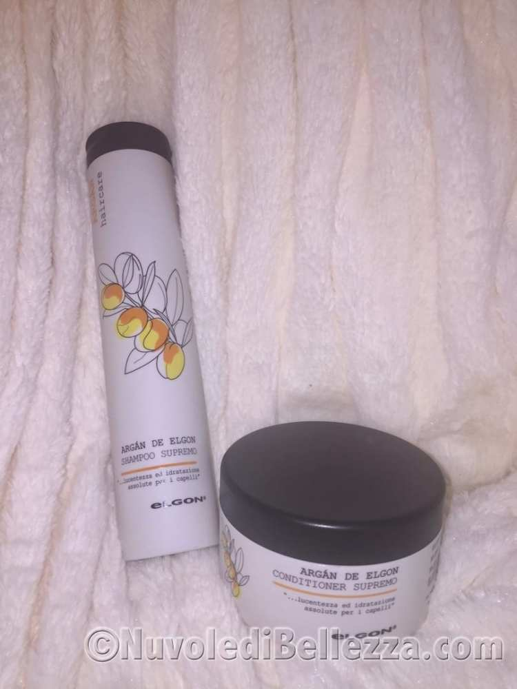 Elgon Argan Shampoo Supremo e Conditioner Supremo