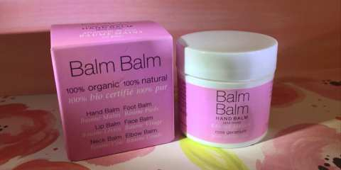 Balm Balm Hand Balm and More Rose Geranium