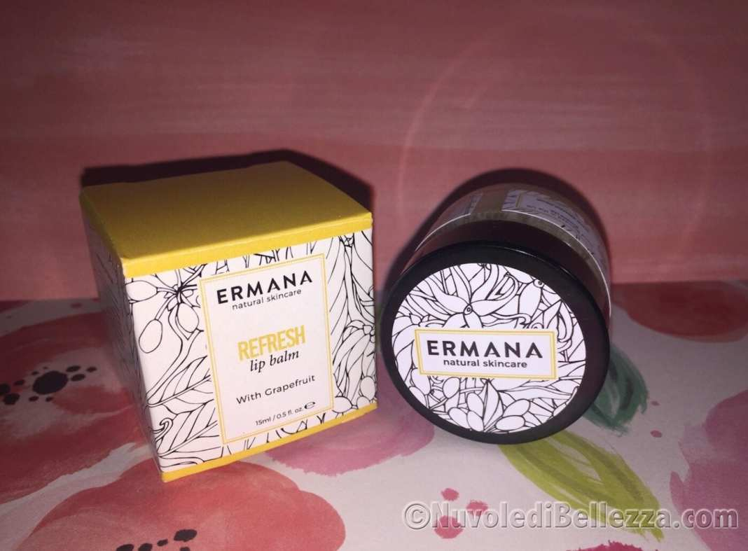 Ermana Refresh Lip Balm