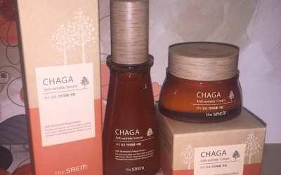 The Saem Chaga Siero e Crema Viso