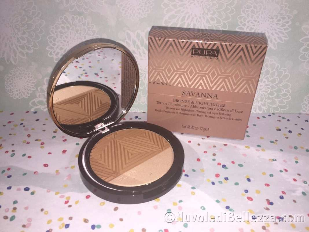 Pupa Savanna Make Up Bronze & Highlighter