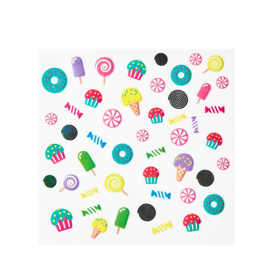 Candy Split Nail Art Stickers