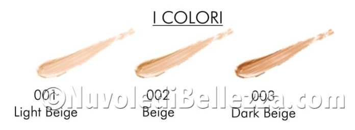 NATURAL SIDE CONCEALER Correttore in Crema