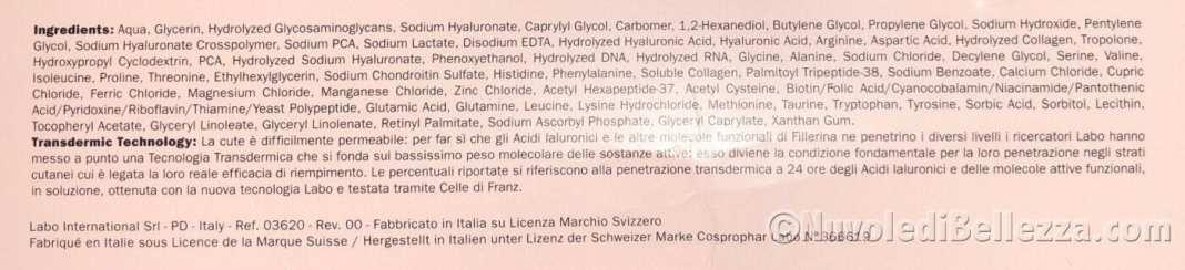 Labo Fillerina Labbra Volume Biorevitalizing con 3d Collagene