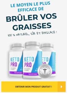 Tout savoir sur Keto PRO