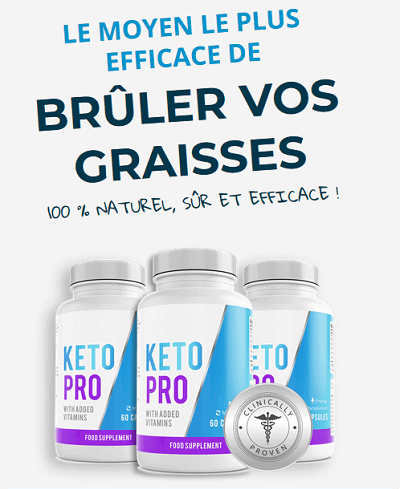 KetoPro - supplément de réduction de poids