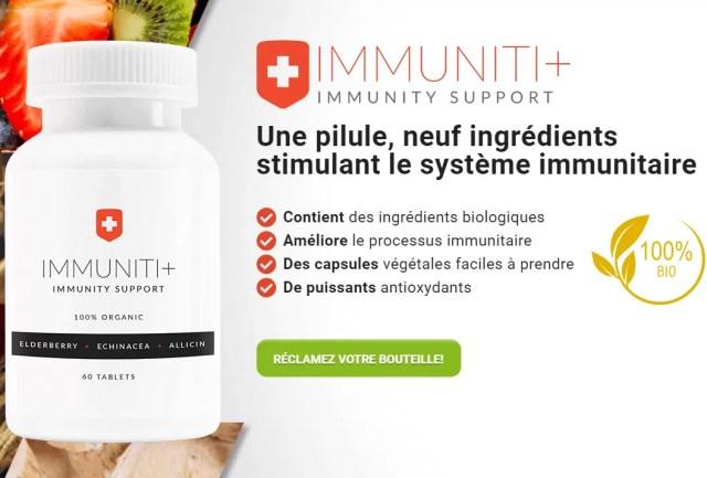 Boostez votre système immunitaire AVEC IMMUNITI+