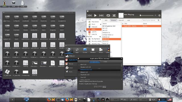 Enlightenment desktop