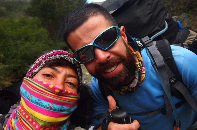 vamos equipoo - 8 günlük yürüyüşün ilk günü