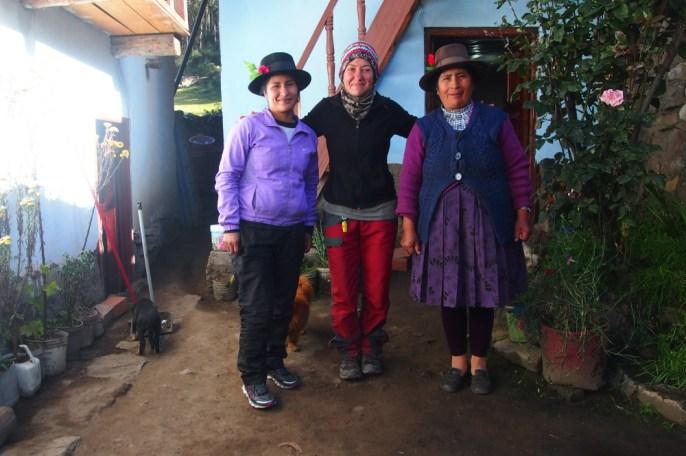 Huayhuash trek - Huayllapa'da bizleri misafir eden Peru'lu aile