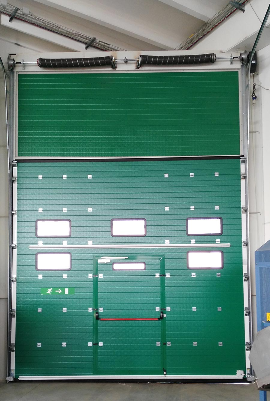 Porta sezionale industriale