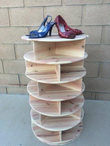 range chaussure tournant nv bois
