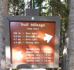 Trail Bear Lake