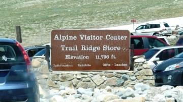 Alpine trail Rodge Visitor Center