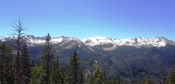 Never summer Mountains