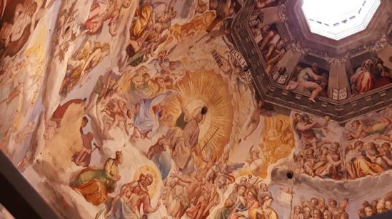 Fresque de la Coupole du Duomo de Florence
