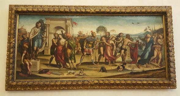 Enlèvement des Sabines - Sodome