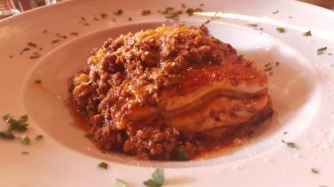 Gastronomie Gusta Osteria - pasta