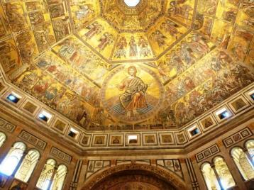 Dorure Dome du Baptistère Santa Maria del Fiore