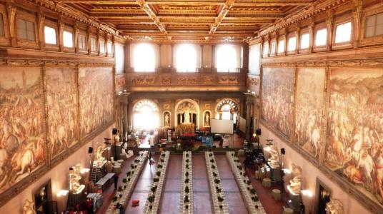 Palazzo Vecchio Salle des Cinquecento