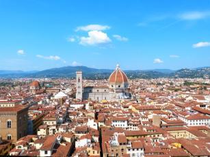 Le Duomo depuis la tour du Palazzo Vecchio