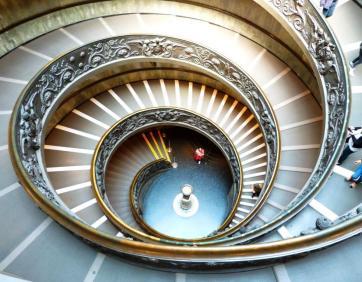 Escaliers Vatican
