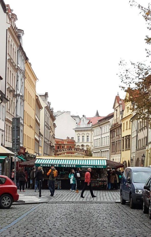 Havelské Trzite Market Prague