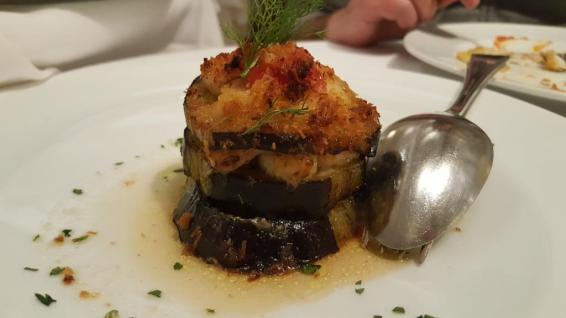 Sea Food Crab millefeuille de poisson