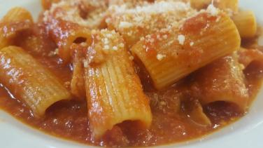 Amedeo gastronomie romaine Amatriciana