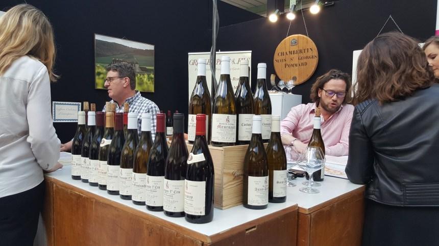Bar à vin Taste of Paris 2017