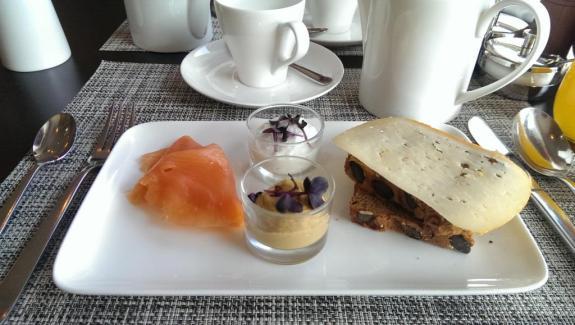 Petit déjeuner Hôtel Sans Souci Vienne