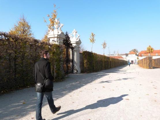 Jardin Belvedere Vienne