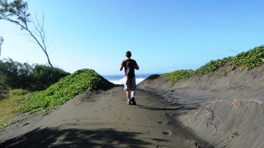Sentier littoral Etang Salé
