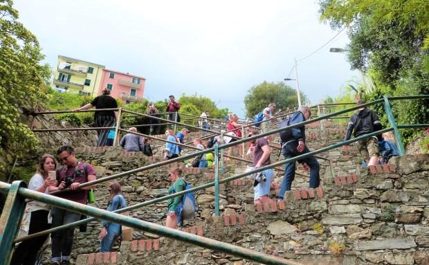 Escaliers Corniglia Cinque Terre