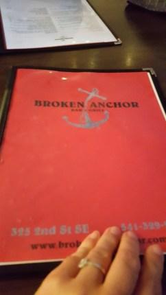 Broken Anchor Bandon Beach