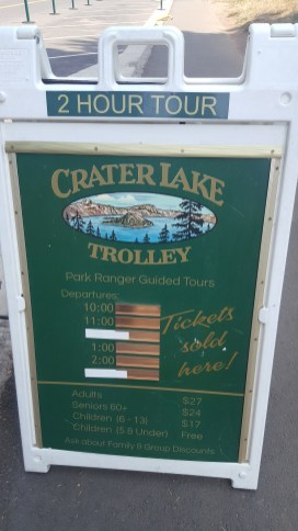 Crater Lake Trolley