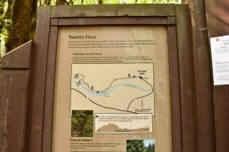 Toketee Falls Oregon Central