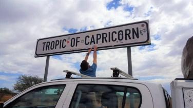 Tropique du Capricorne Namibie