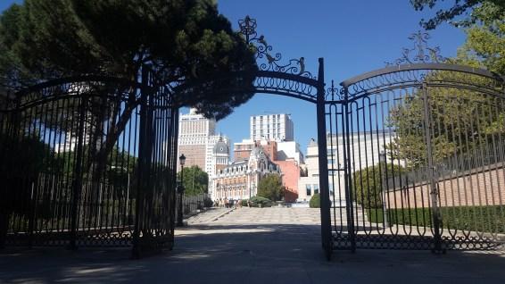 Jardins Sabatini Madrid
