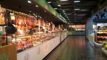 Mercado San Anton Madrid