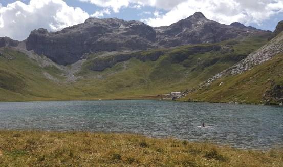 Randonnée du lac de la Plagne