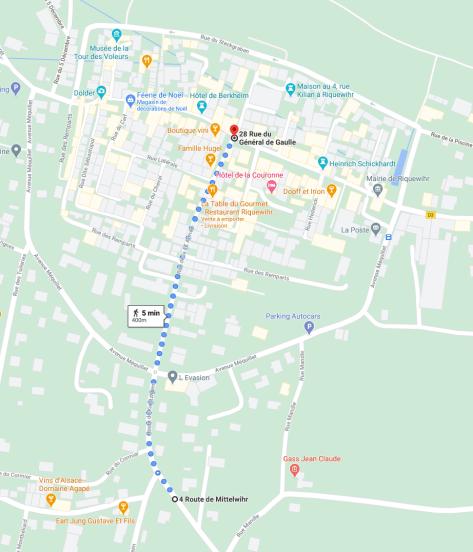 Stationnement Riquewihr