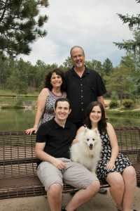 The Bork family from New View Blinds and Shutters