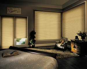Denver, Colorado Hunter Douglas Nantucket window shadings
