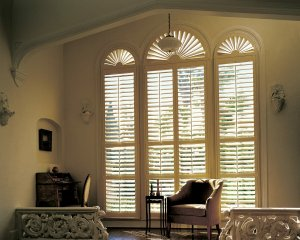 Hunter Douglas NewStyle® hybrid shutters in Monument, Colorado