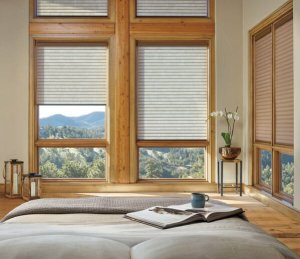 Hunter Douglas Sonnette cellular roller shades in Colorado Springs